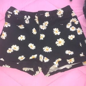 Forever 21 sunflower shorts